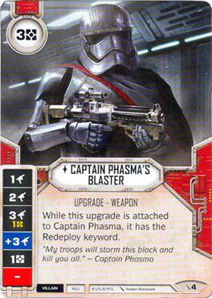 Phasma Kapitány sugárvetője