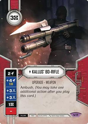 Kallus BO-fegyvere