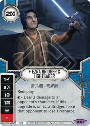 Ezra Bridger fénykardja