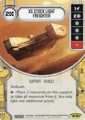 XS könnyű teherhajó
