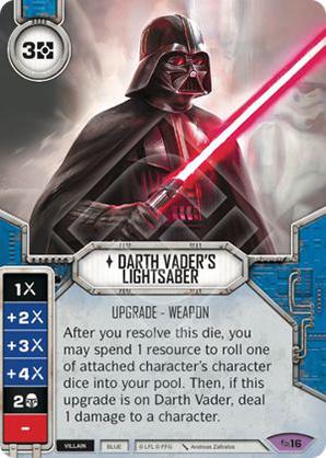 Darth Vader fénykardja