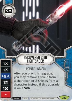 Visszaszerzett Sith fénykard