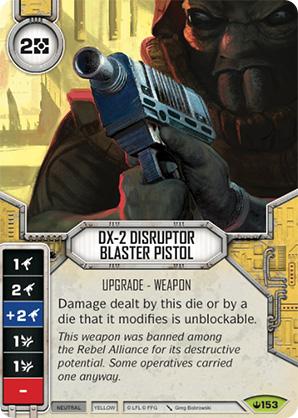 DX-2 Diszruptor sugárvető
