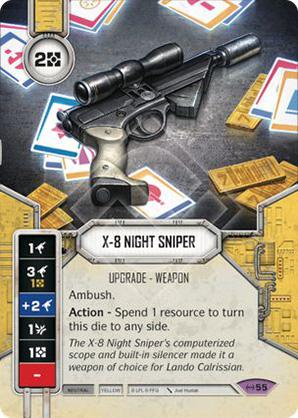 X-8 orvlövész pisztoly