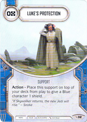 Luke védelme