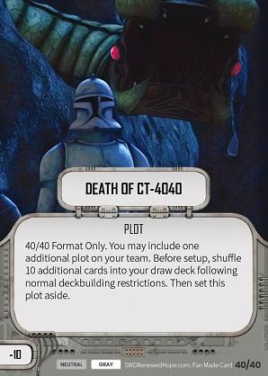CT-4040 Halála